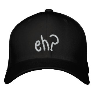 embroidered eh? CANADA hat