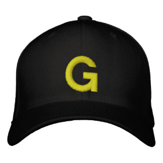 Embroidered G Cap