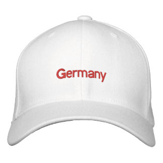 Embroidered Germany Hat
