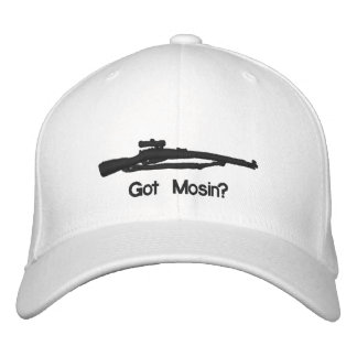 Embroidered Got Mosin Fitted Hat Embroidered Baseball Cap
