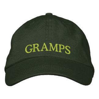 Embroidered Grandpa Hat Embroidered Baseball Caps