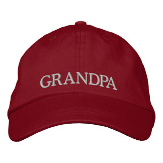 Embroidered Grandpa Hat Embroidered Hats