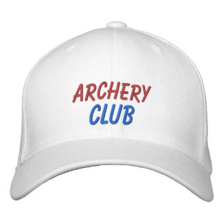 Embroidered Hat Archery Club