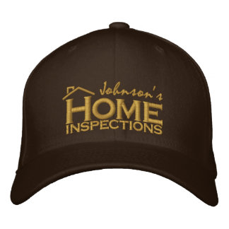 Embroidered Home Inspections Embroidered Hat