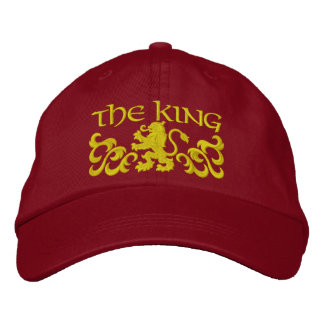 Embroidered King Cap/Hat Embroidered Hats
