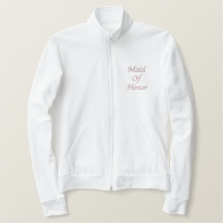 Embroidered Maid of Honor jacket