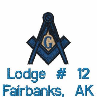 Embroidered Masonic Hoody 2B1 ASK1