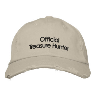 Embroidered Metal Detecting Hat Embroidered Cap