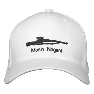 Embroidered Mosin Nagant Fitted Hat Embroidered Hats