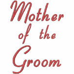 Embroidered Mother of the Groom Wedding Apparel Hoody