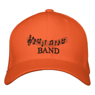 Embroidered Music Band Cap Embroidered Baseball Cap