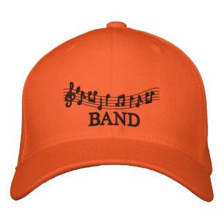Embroidered Music Band Cap Baseball Cap