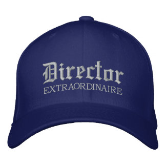 Embroidered Music Director Cap Embroidered Hats
