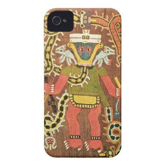 Embroidered mythological figure, Paracas Necropoli iPhone 4 Case