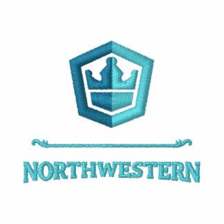 Embroidered Northwestern Crew Shirt