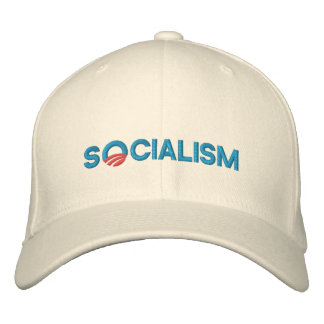 EMBROIDERED OBAMA HAT - Socialism Embroidered Baseball Caps