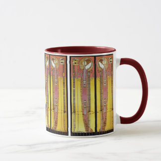 Embroidered Panels by Margaret Macdonald Mug
