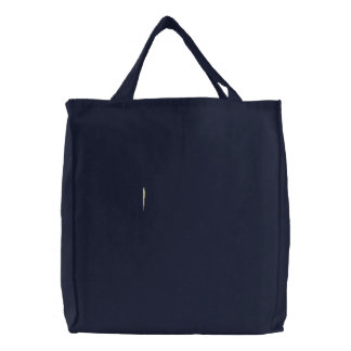 Embroidered Singing Rat (Outline) Tote