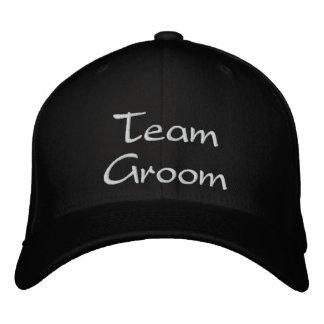 Embroidered Team Groom Wedding Cap Baseball Cap