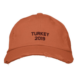 Embroidered Thanksgiving  - Change to Current Year Embroidered Cap
