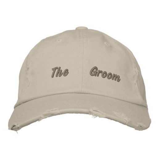 Embroidered The Groom Taken Cap Embroidered Baseball Cap