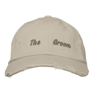 Embroidered The Groom Taken Cap Embroidered Hats