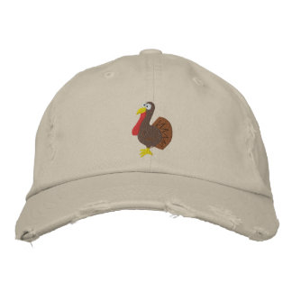 Embroidered Turkey Hat Embroidered Hats