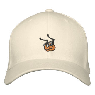 Embroidered Wool WyzAnt Flex Fit Hat - Natural Embroidered Hat