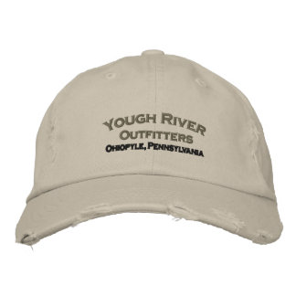Embroidered Yough River Cap Embroidered Hat
