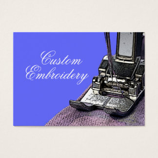 Embroidery Business Card