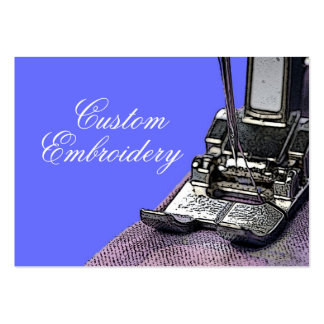 Embroidery Business Card Template