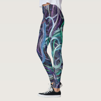Embroidery Floss Texture • Crafts Leggings
