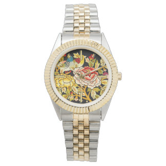 embroidery Hand made flower Watches