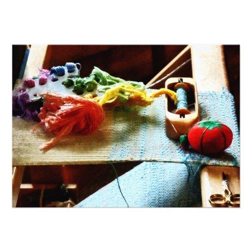 Embroidery Supplies Custom Invites