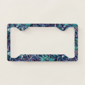 Embroidery Thread Crafts Print Licence Plate Frame