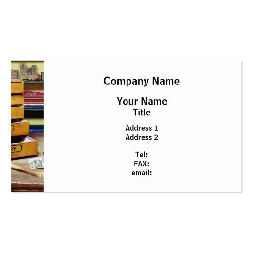 Embroidery Thread for Sale Business Card