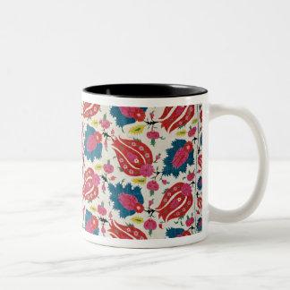 Embroidery, Turkish (textile) Two-Tone Coffee Mug