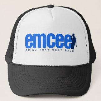 Emcee (MC) - Blue Trucker Hat