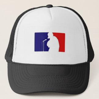 emcee trucker hat