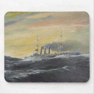 Emden rides the waves Indian Ocean 1914 2011 Mouse Mat
