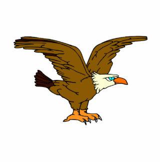 Emek Eagle Standing Photo Sculpture