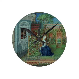 Emelye in her garden. The imprisoned knights Palam Round Clock