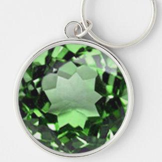 Emerald 1 key ring