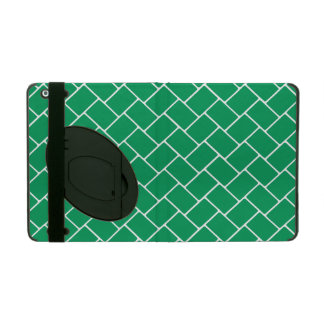 Emerald Basket Weave Cover For iPad
