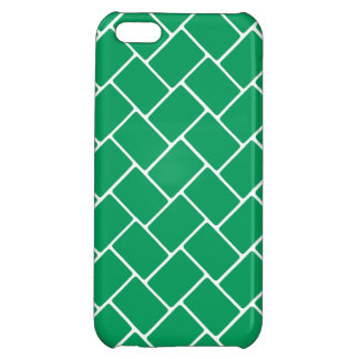 Emerald Basket Weave iPhone 5C Cover
