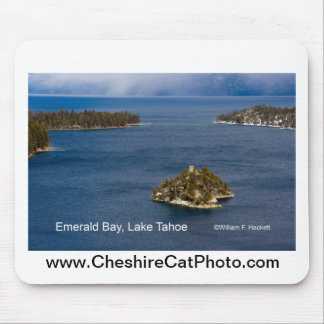 Emerald Bay, Lake Tahoe California Products Mousepads