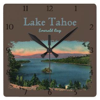 Emerald Bay Lake Tahoe Custom Clock