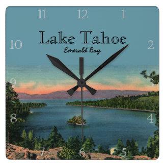 Emerald Bay Lake Tahoe Custom Wall Clocks