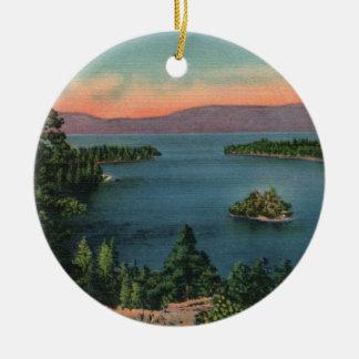 Emerald Bay - Lake Tahoe Ornament