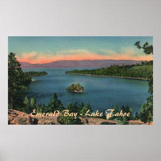 Emerald Bay - Lake Tahoe Poster